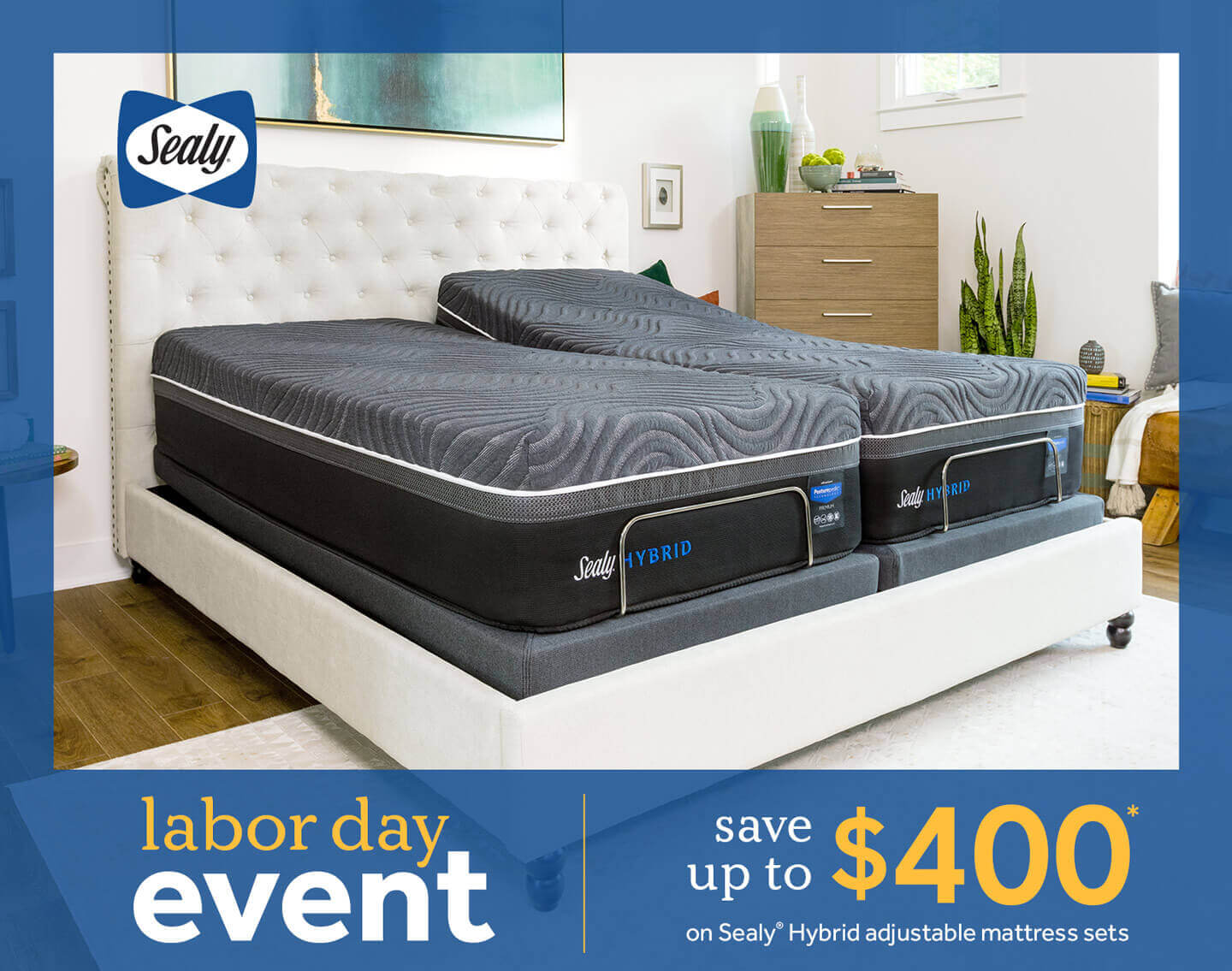 Sealy Labor Day Savings Event